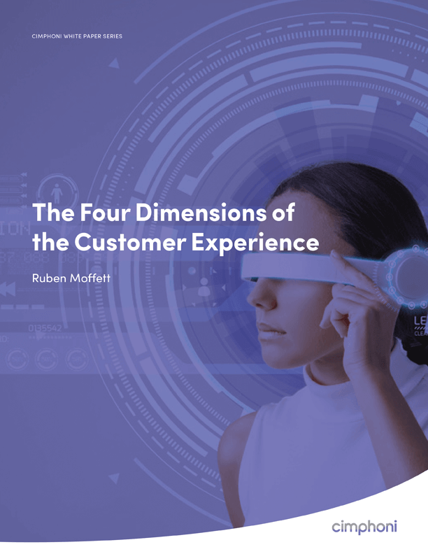 The Four Dimensions of the Customer Experience