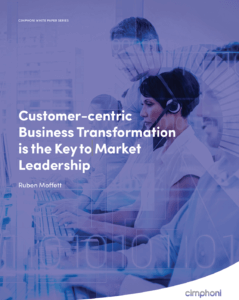 White Paper_Customer-centric Business Transformation